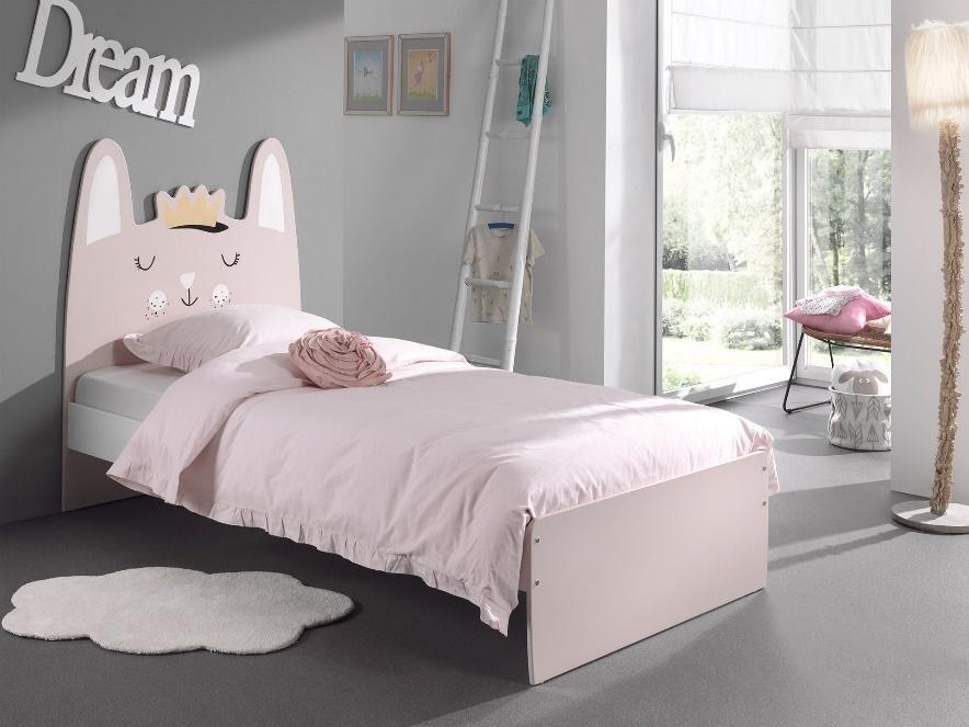 Een echte meisjeskamer begint met een leuk meisjesbed!