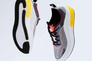 De schoenen van Nike