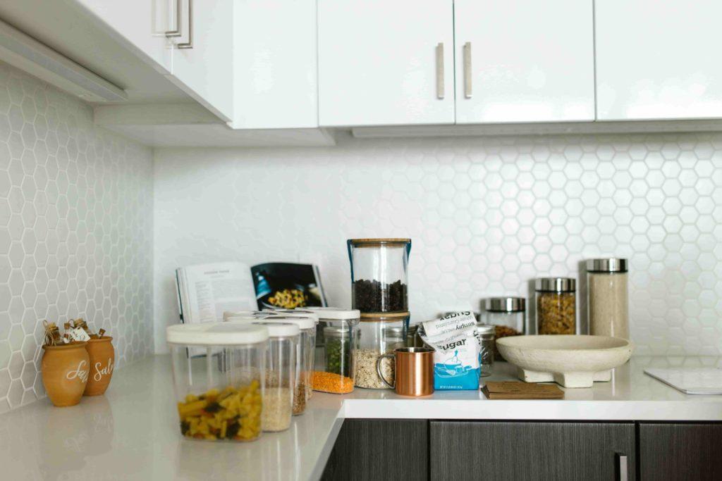 Trend van glas, voor in de keuken